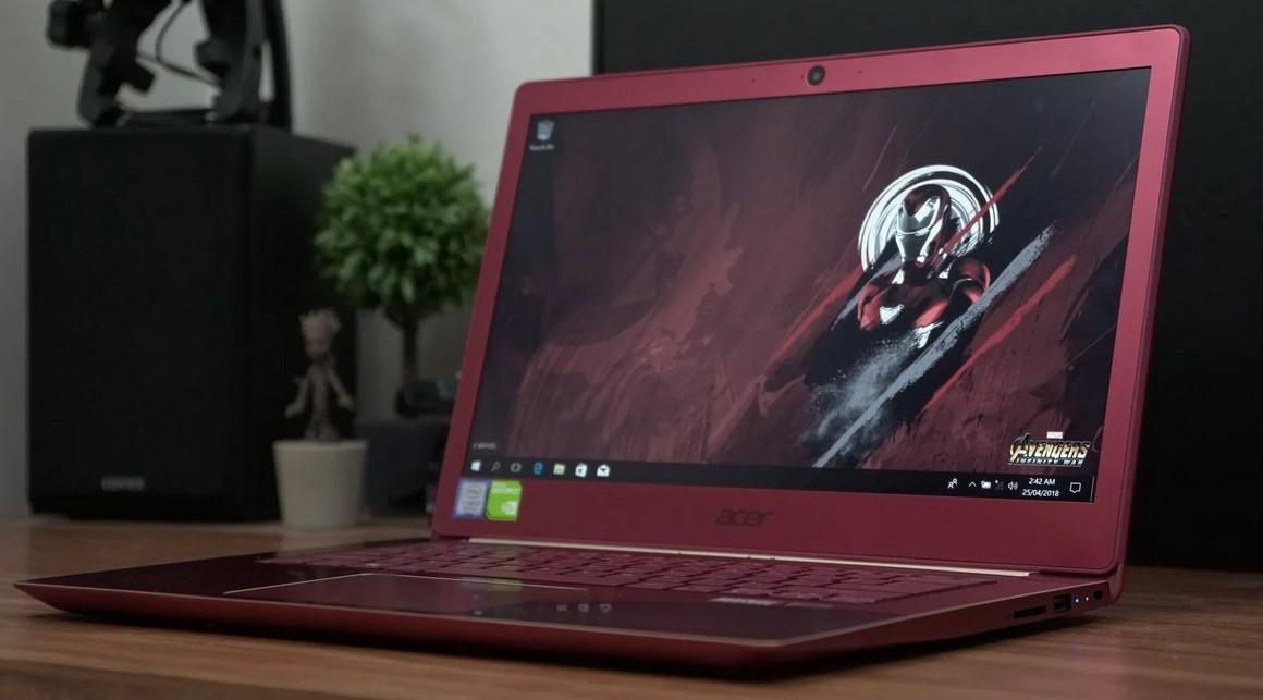 Acer Swift 3 Iron Man Edition
