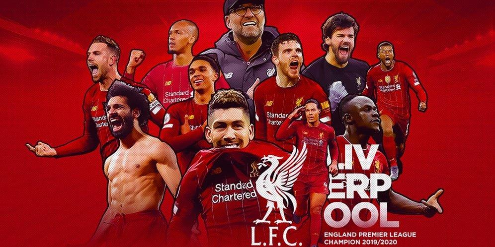 Alasan Logis Mengapa Liverpool Juara Liga Inggris 2019 2020